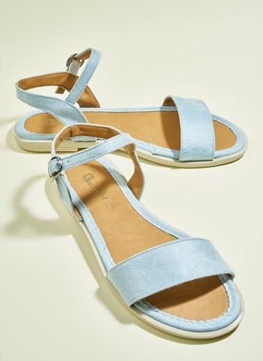 Bambi Sandalet Mavi